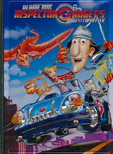 INSPECTOR GADGET'S BIGGEST CAPER EVER BY MAC,BERNIE (DVD)